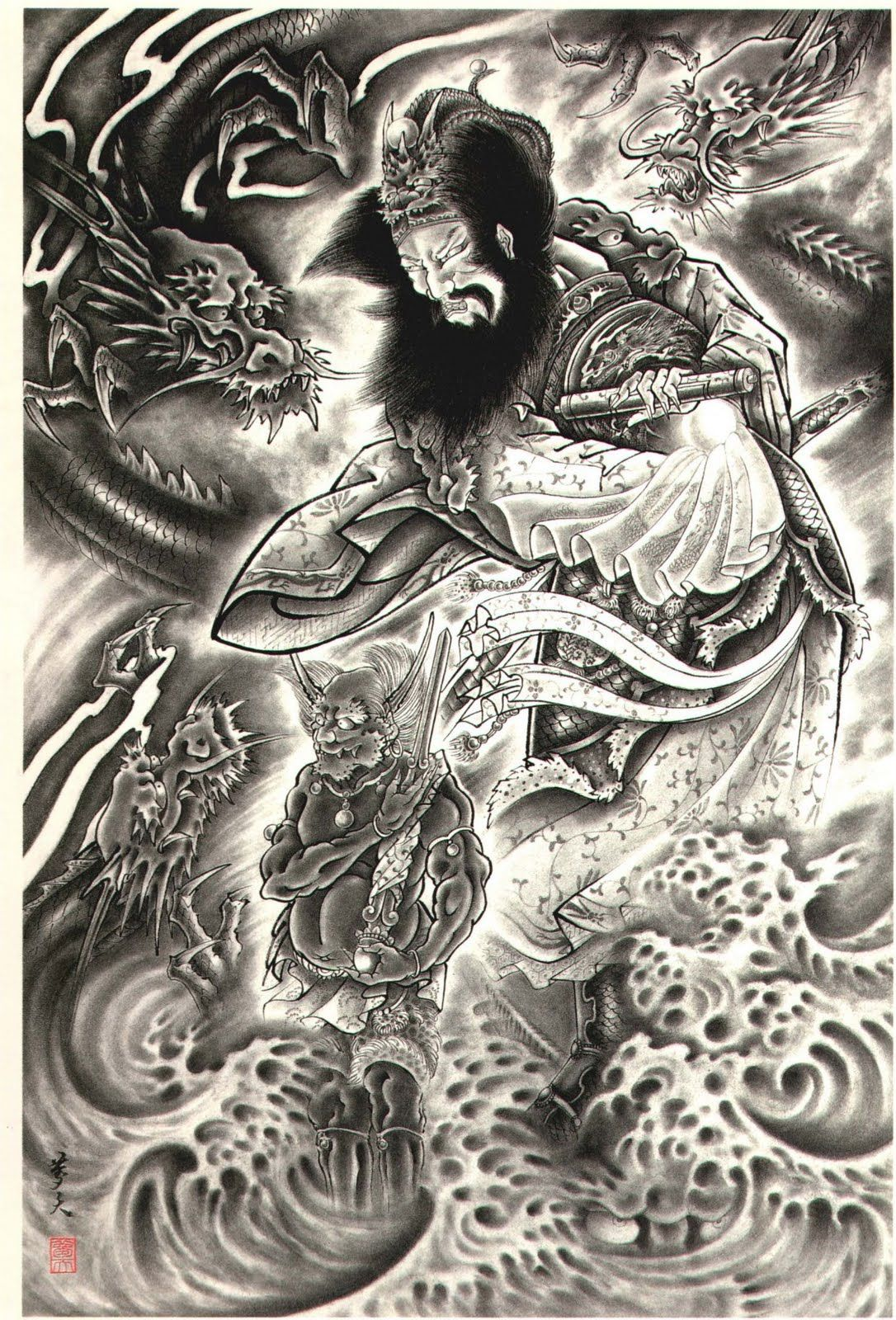 japanese demon tattoos part 5 3d tattoos images