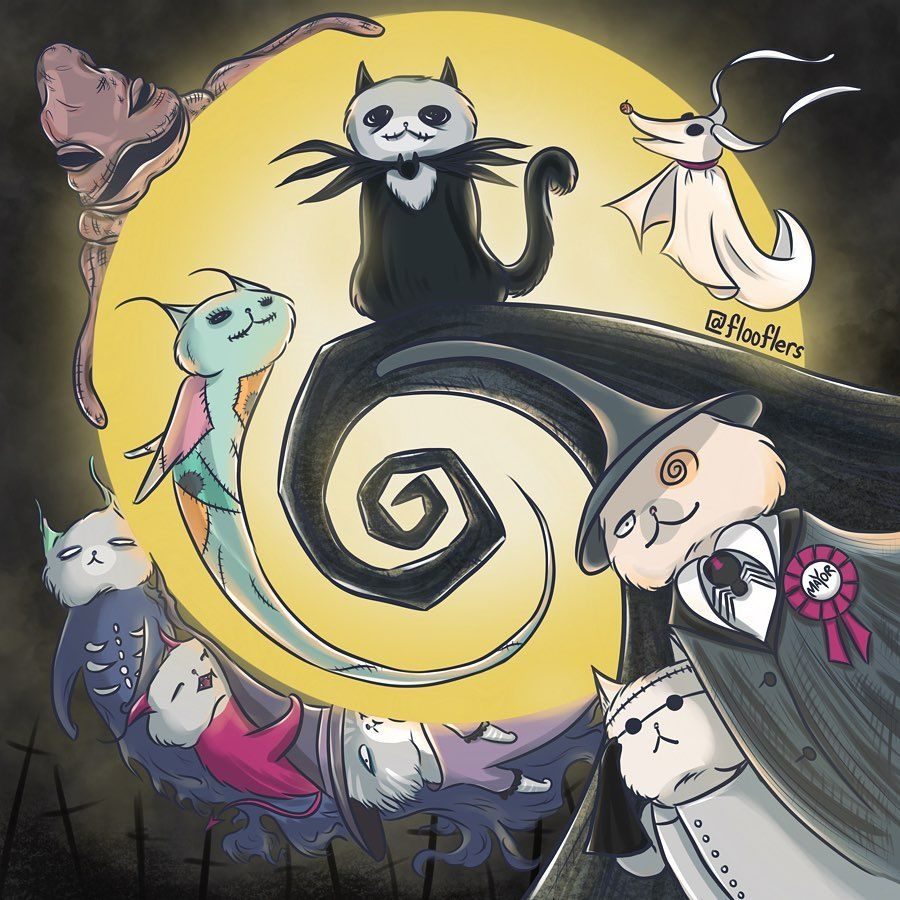 The Great Flooflers On Instagram This Is Halloween This Is Halloween Inspired By Nightmare Before Nightmare Before Christmas Nightmare Before Nightmare