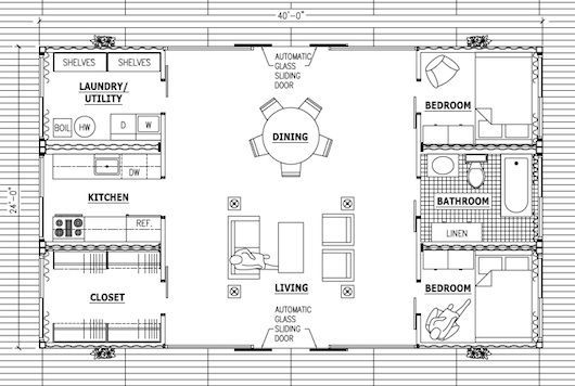 Storage Container Home Plans | Shipping Container Design U2013 Old Lady House: