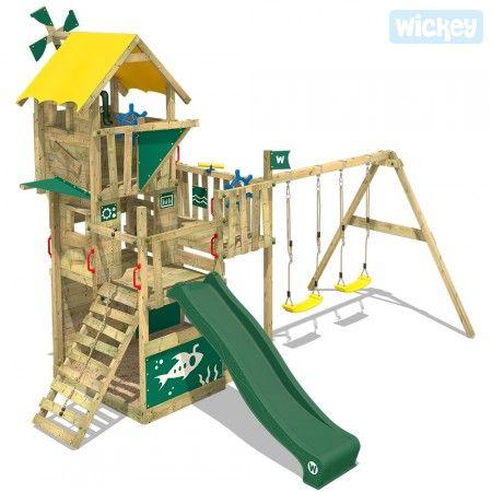 Wieza Wspinaczkowa Wickey Smart Engine 817532 K By Wickey Z Hustawka Backyard Trampoline Wickey Climbing Frame Climbing Frame
