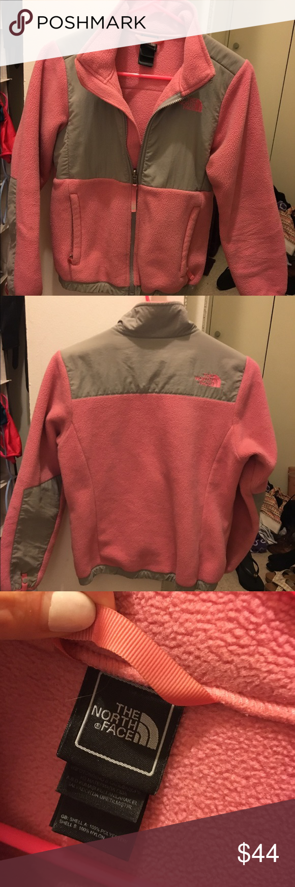 North face denali fleece jacket used many times size is child m