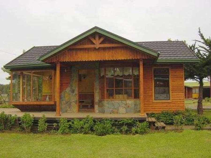 Fachadas de locales con madera y piedras buscar con google cafe - Busco casa prefabricada ...