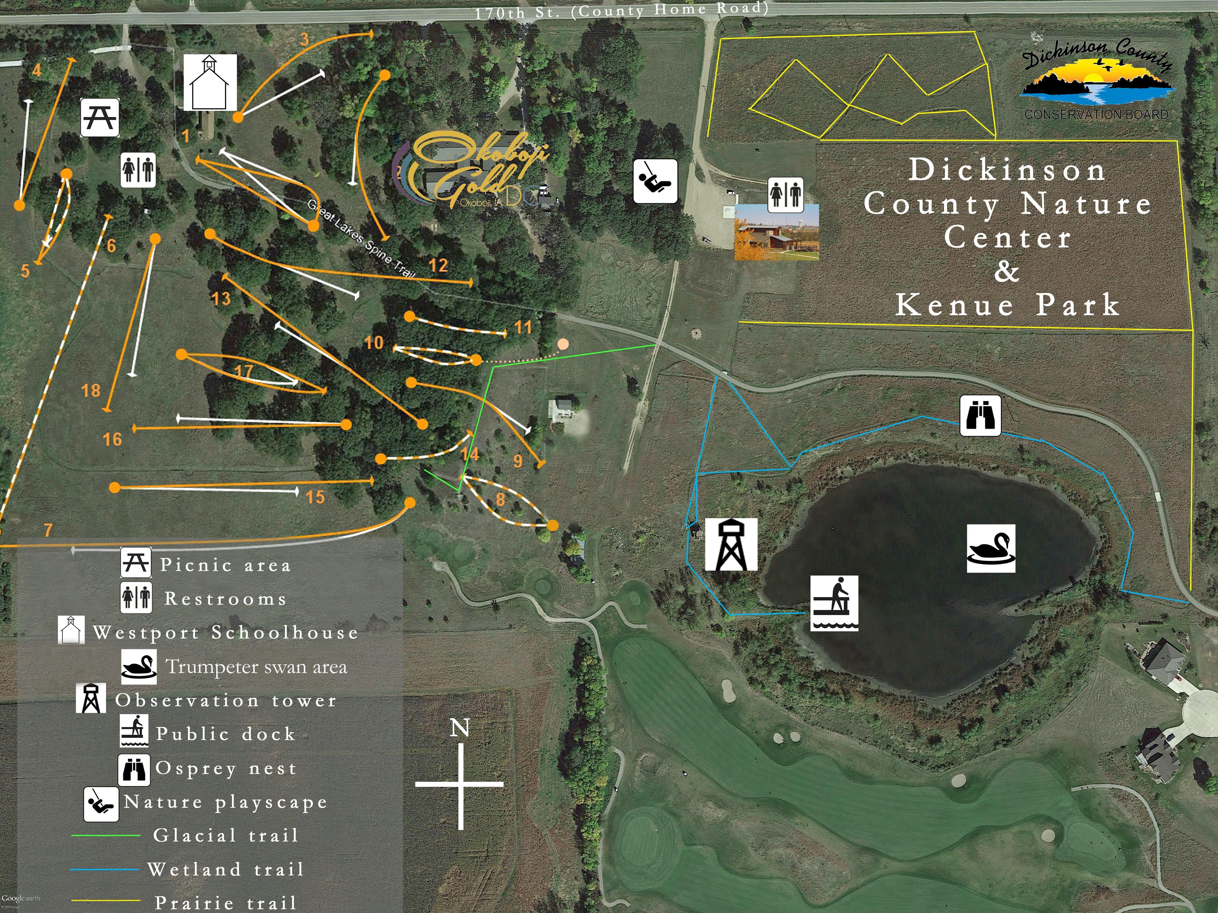 Dickinson County Nature Center Nature center, Wetland