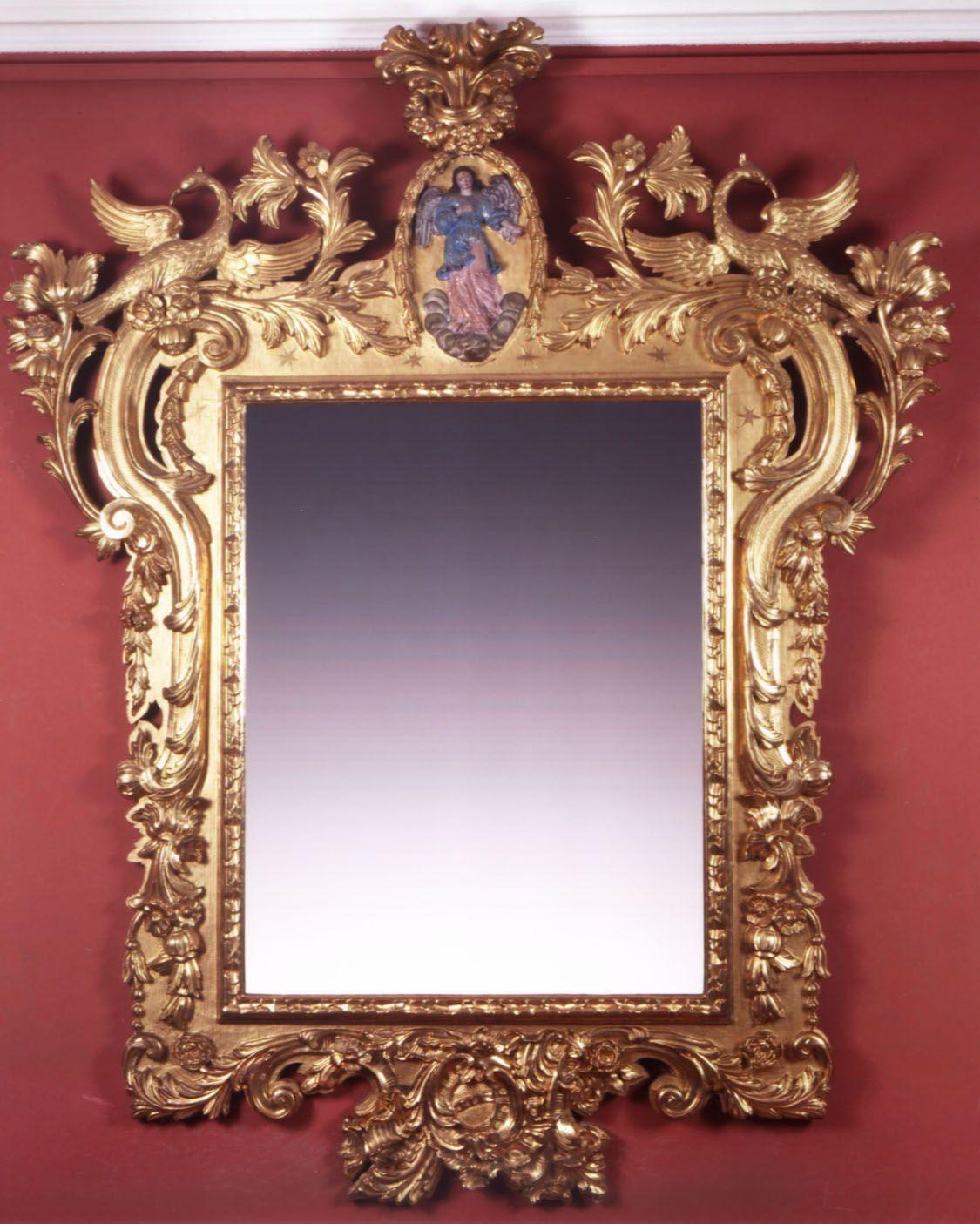 Espejo barroco espa ol siglo xviii esmadeco mueble for Espejo barroco