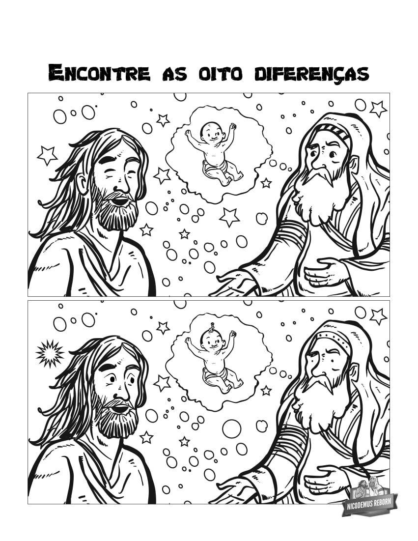 Atividades Infantis Sobre A Mulher Samaritana E Nicodemos