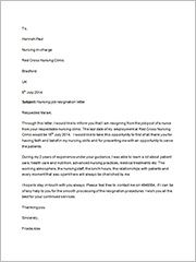 NursingJobResignationLetter  Vatican    Resignation