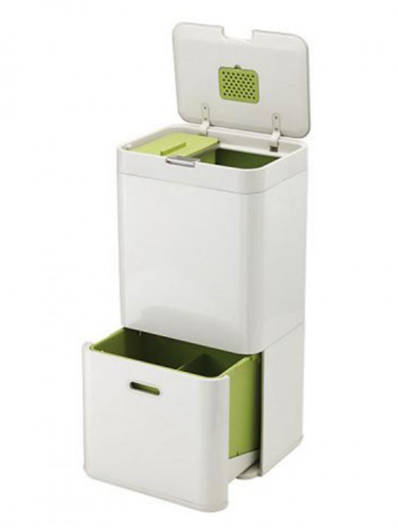 Joseph Intelligent Waste Separation Recycling Totem Bin From Our Kitchen Bins Range At John Lewis