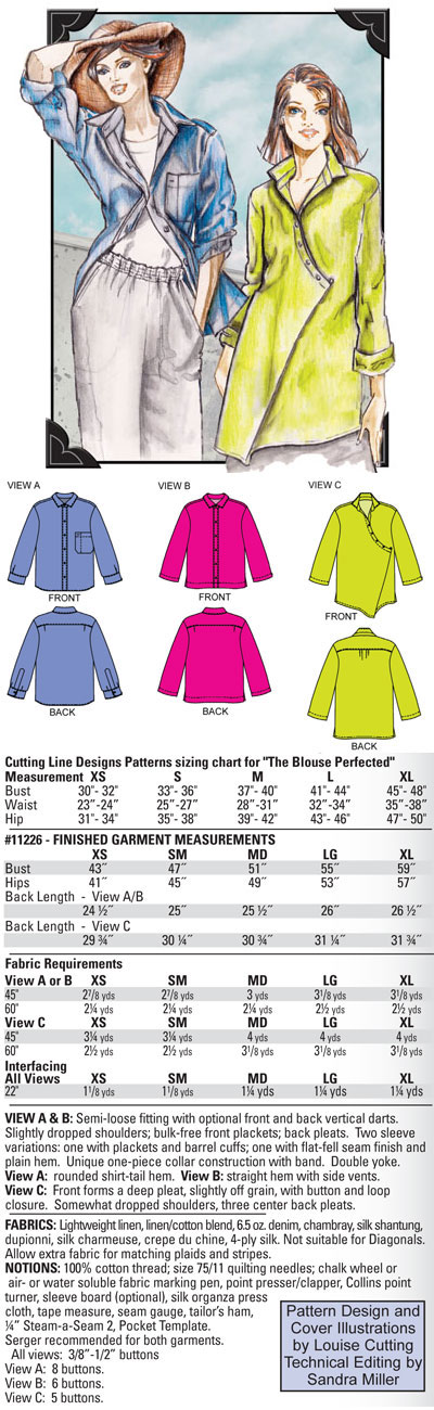 Louise Cutting, I love this new blouse! Instant classic! Can\'t wait ...