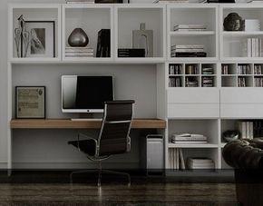 bureau wit lak of hoogglans carre meubelen boekenkast bovenkastvitrine laden