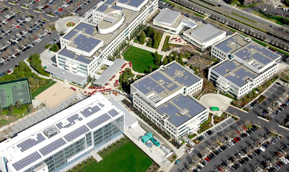 Ebay got SolarCity on their roof. Saves them $$$$$$$$$$$