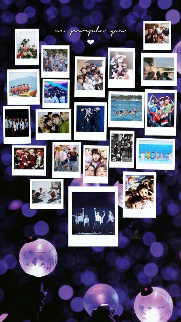 Bts Lockscreen Wallpaper Happy 5th Anniversary Bangtan We Purple U Bts Btswallpaper Lockscreen Bangtansonyeondan Bts Mainan Pria