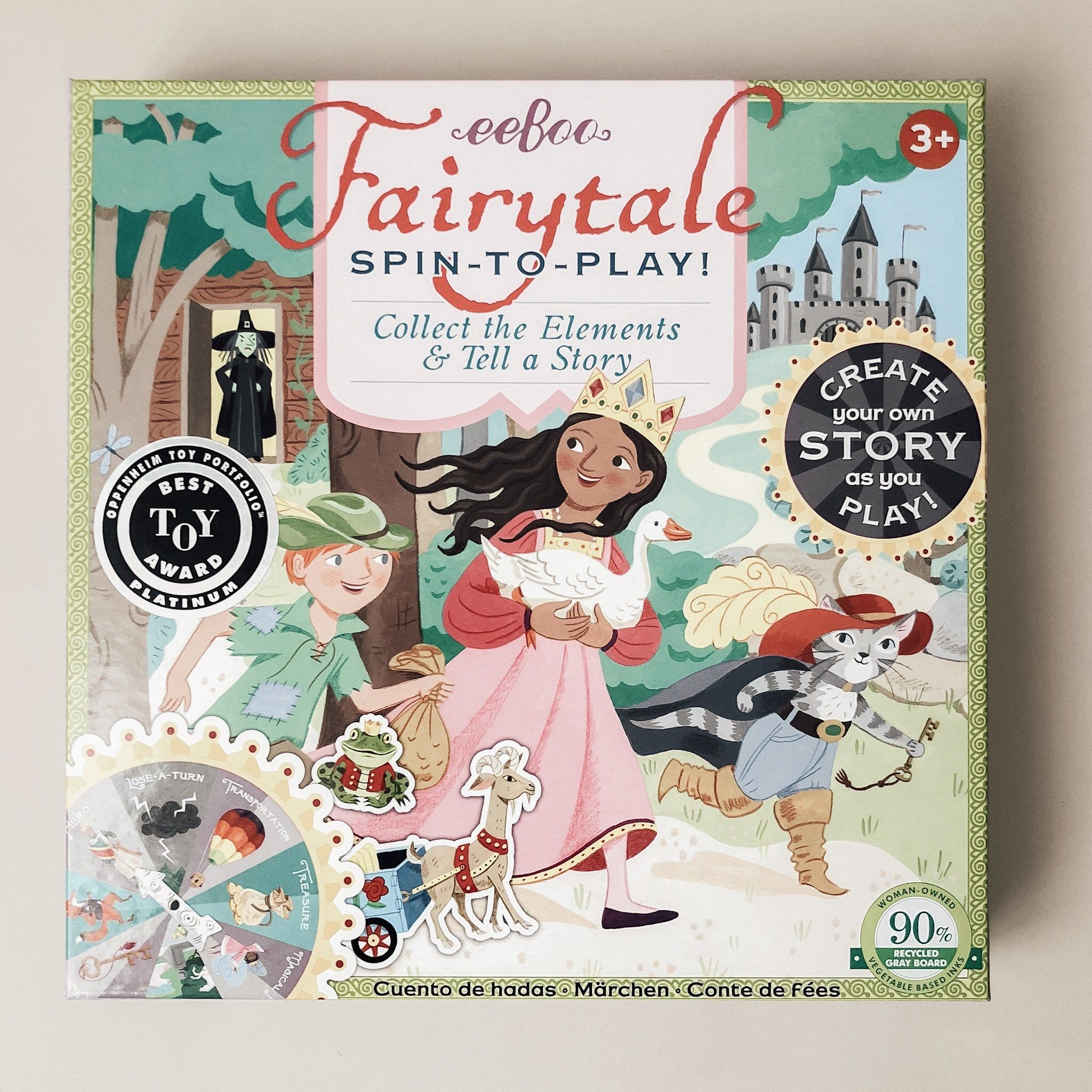 Fairy Tale Spinner Game