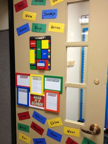 Here in the Waiting Place: My LEGO classroom! Grade levels instead ...