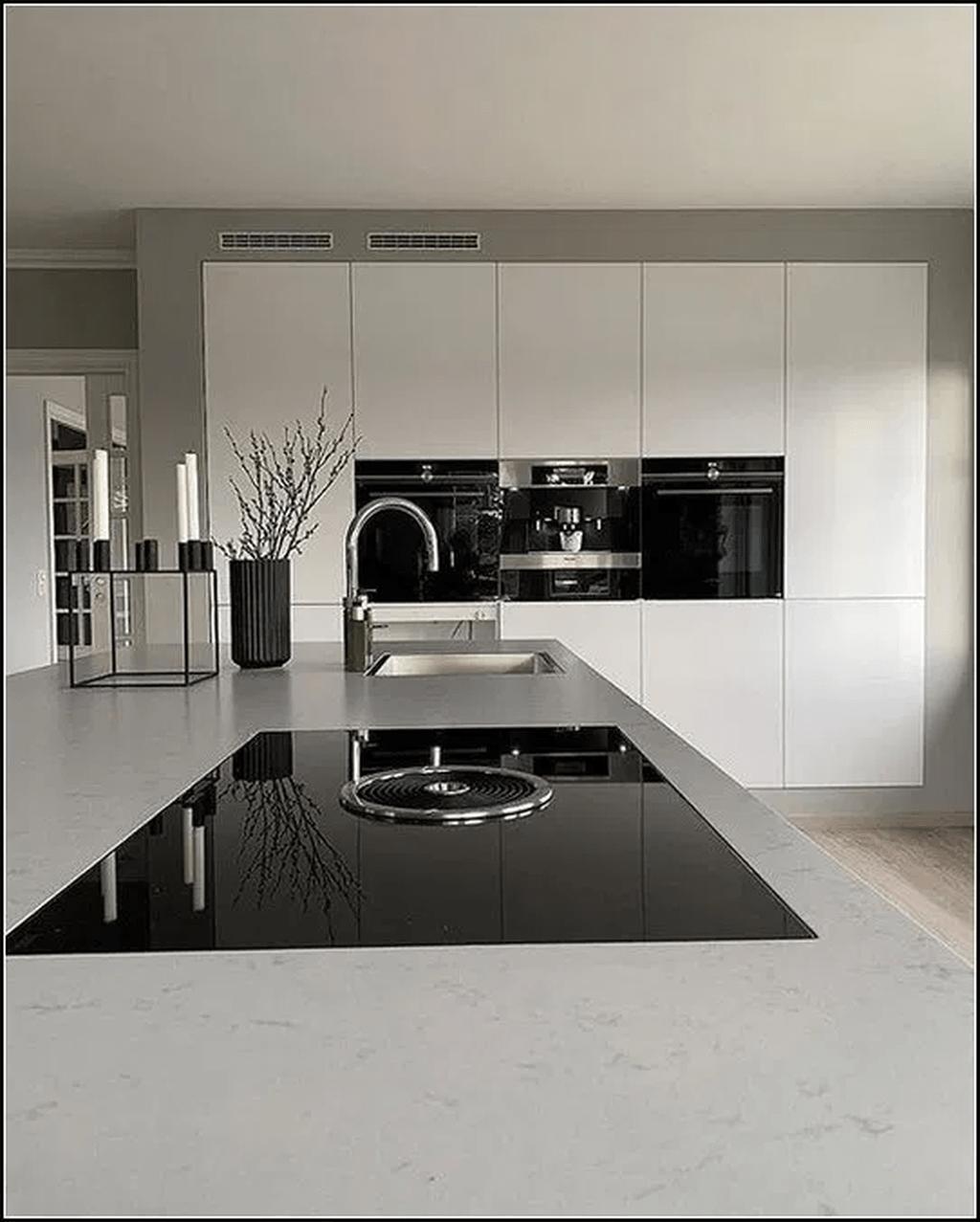 39 Amazing Luxury Kitchens Design Ideas With Modern Style Interiordesignbedroom Interior Kitchen Room Design Modern Kitchen Design Kitchen Inspiration Design