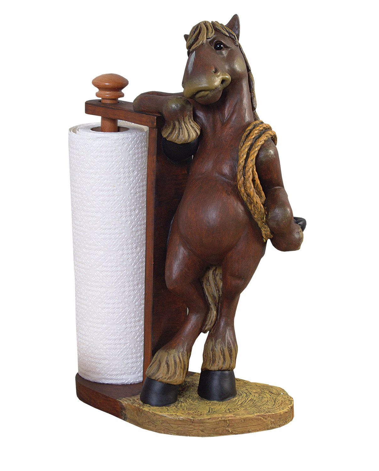 Horse Steel Paper Towel Rack Made in USA