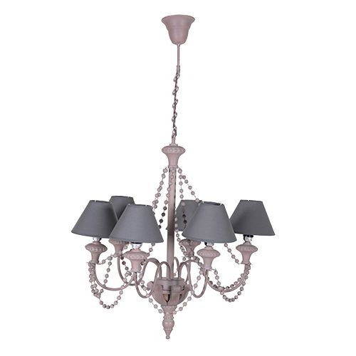 French Taupe Chandelier http://www.la-maison-chic.co.uk/Item/French_Taupe_Chandelier