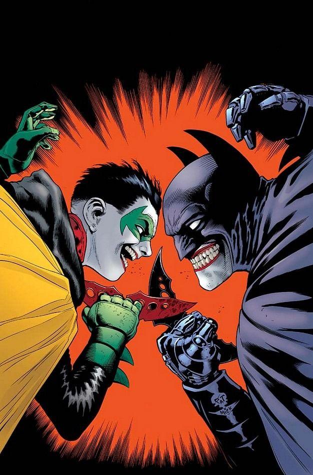 BATMAN AND ROBIN #16 Cover