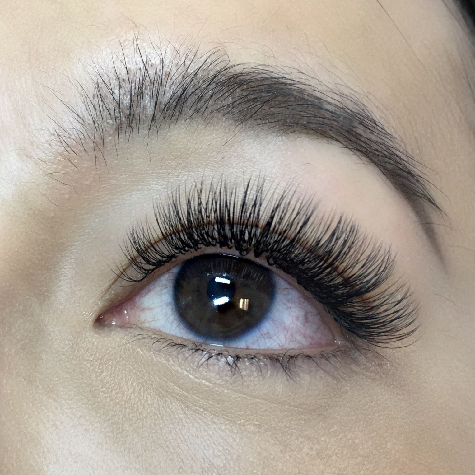 Natural looking volume lashes monolid eyes lashes lash