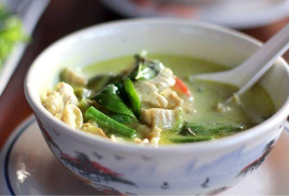 Crockpot Thai Green Curry Chicken