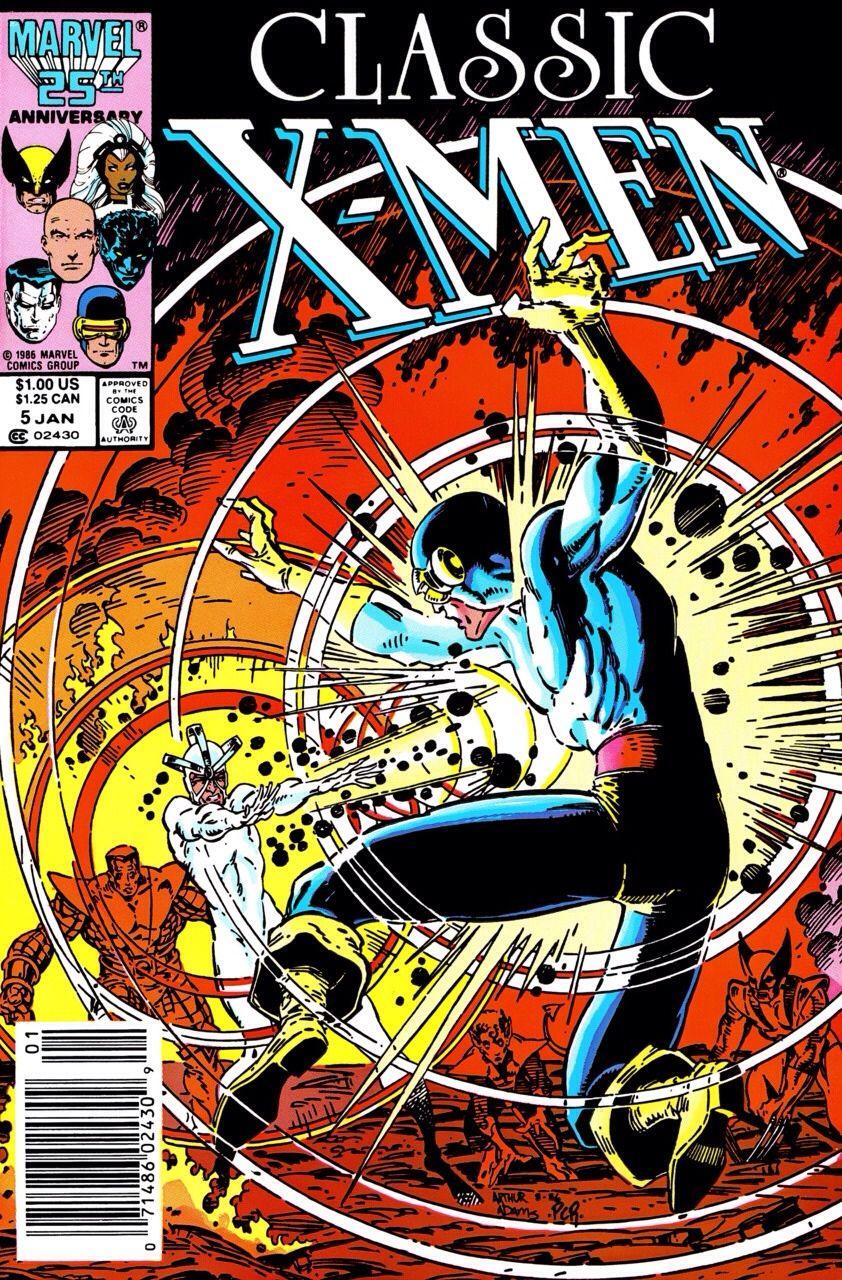 Havok Cyclops Classic X Men 05 Arthur Adams Marvel Comics Covers Comic Book Covers X Men