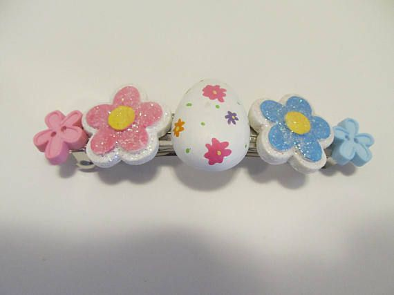 Easter barrette button barrette gifts for her gifts for girls easter barrette button barrette gifts for her gifts for girls negle Choice Image