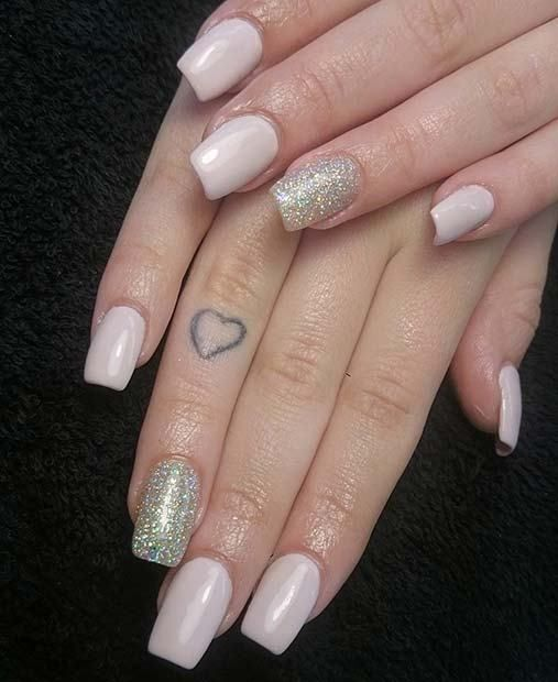 68 Trends Gel Glamorous Nye Nail Ideas Nails Pinterest Simple