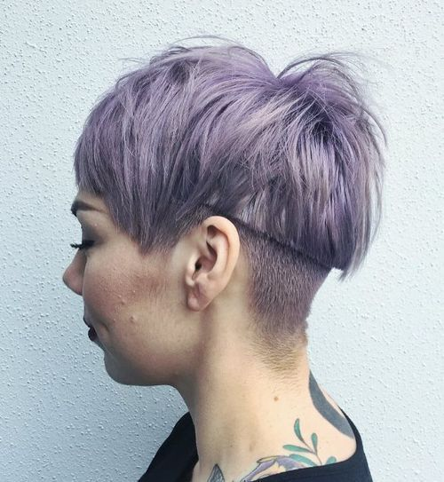 Undercut Hairstyle Top 40 Hottest Very Short Hairstyles For Women  Undercut Hairstyle
