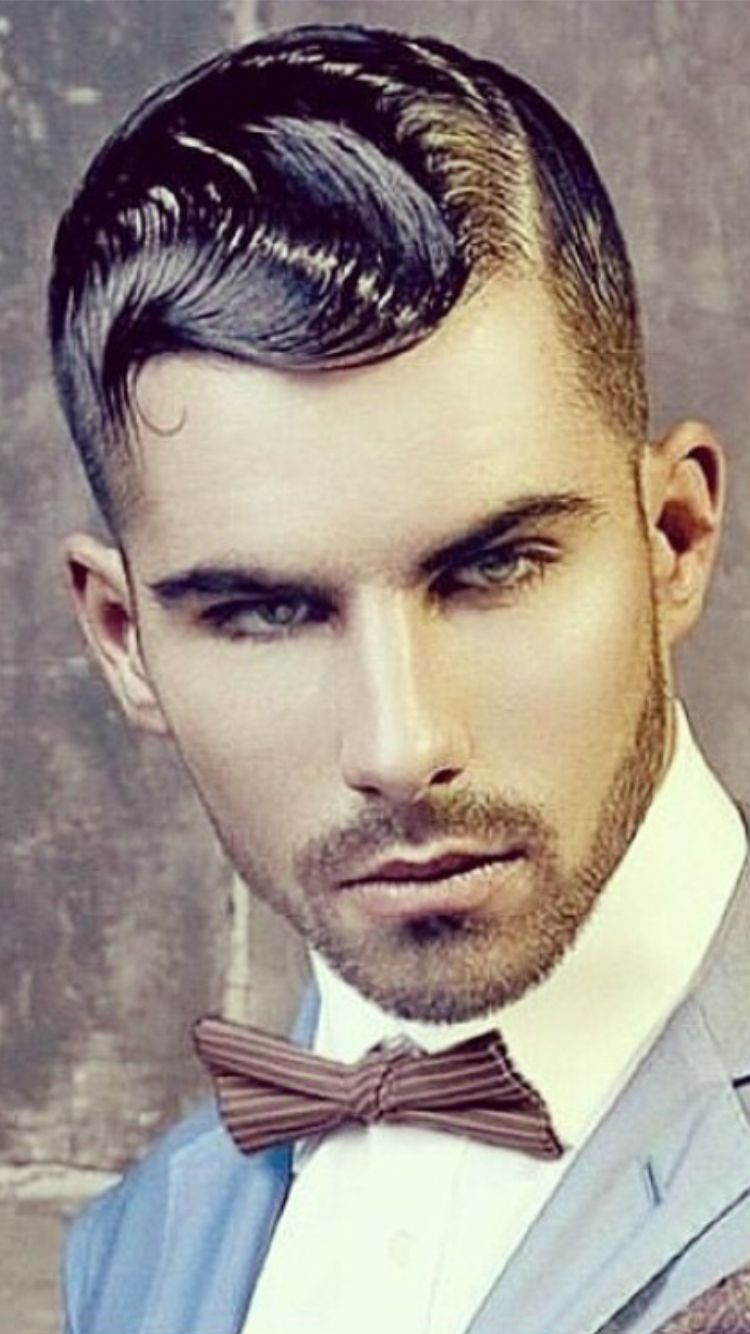mens finger waves men's hair