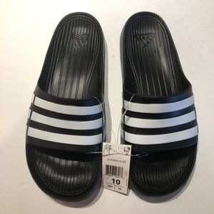 Adidas Duramo sandal slides adilette size 1011