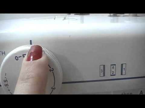 """Vídeo bem simples explicando como """"casear"""" na máquina mecânica."""