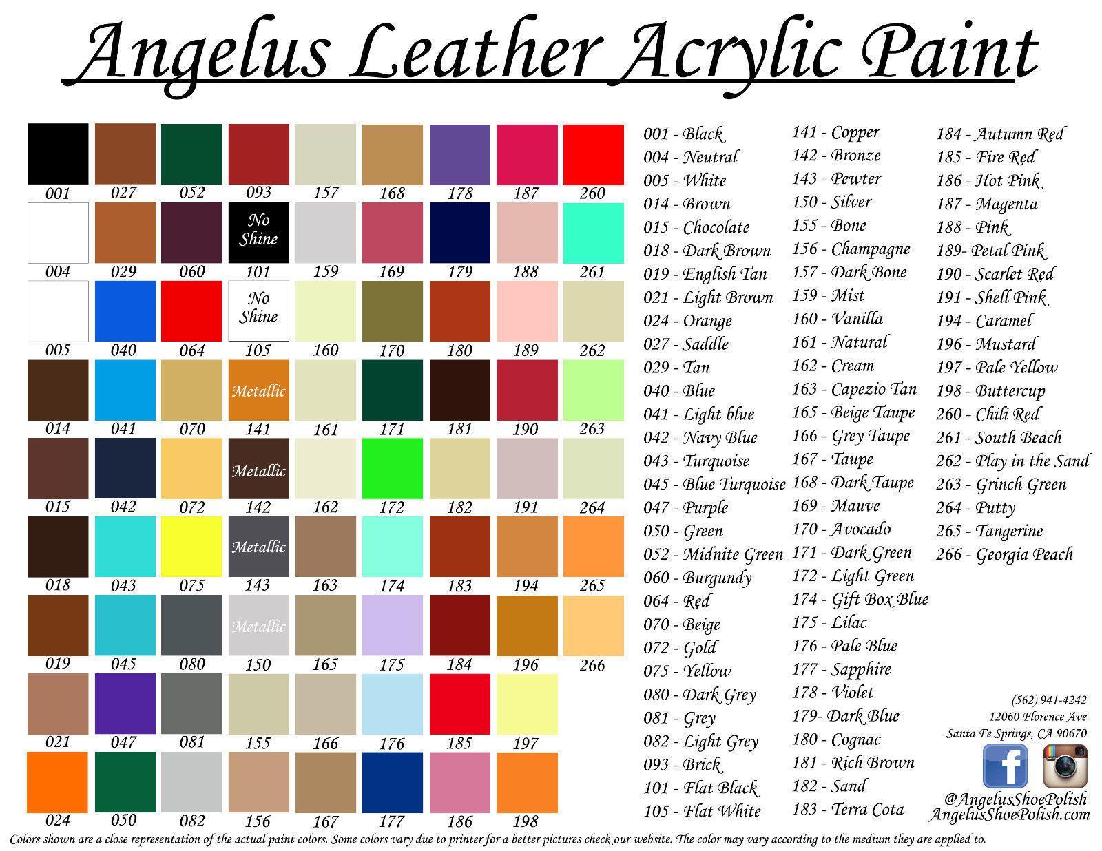 a93f1db6ee83 Angelus Acrylic Leather  Vinyl Paint  Dye 1oz. Sneaker- 23 NEW ...