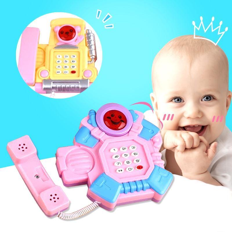 창조적 인 개발 지능 교육 장난감 연수 아이 장난감 음악 전화 장난감 아기 장난감