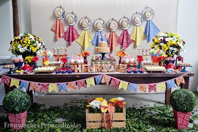 Decoração Festa Junina Your Pinterest Likes Table Decorations
