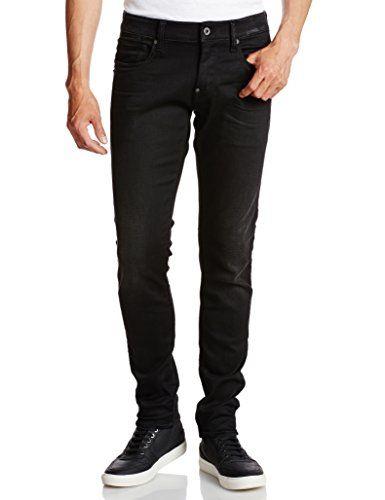 G Star Raw Men S Revend Super Slim Fit Jean In Slander Black Superstretch Aged Slim Fit Jeans Slim Fit G Star