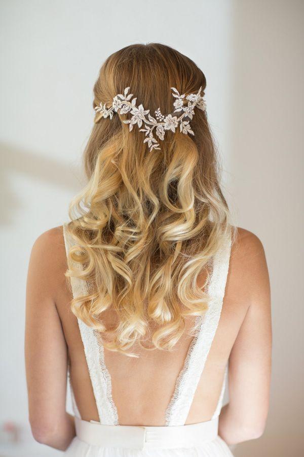 18 stunning wedding hair accessories for brides wearing their hair down weddingsonline