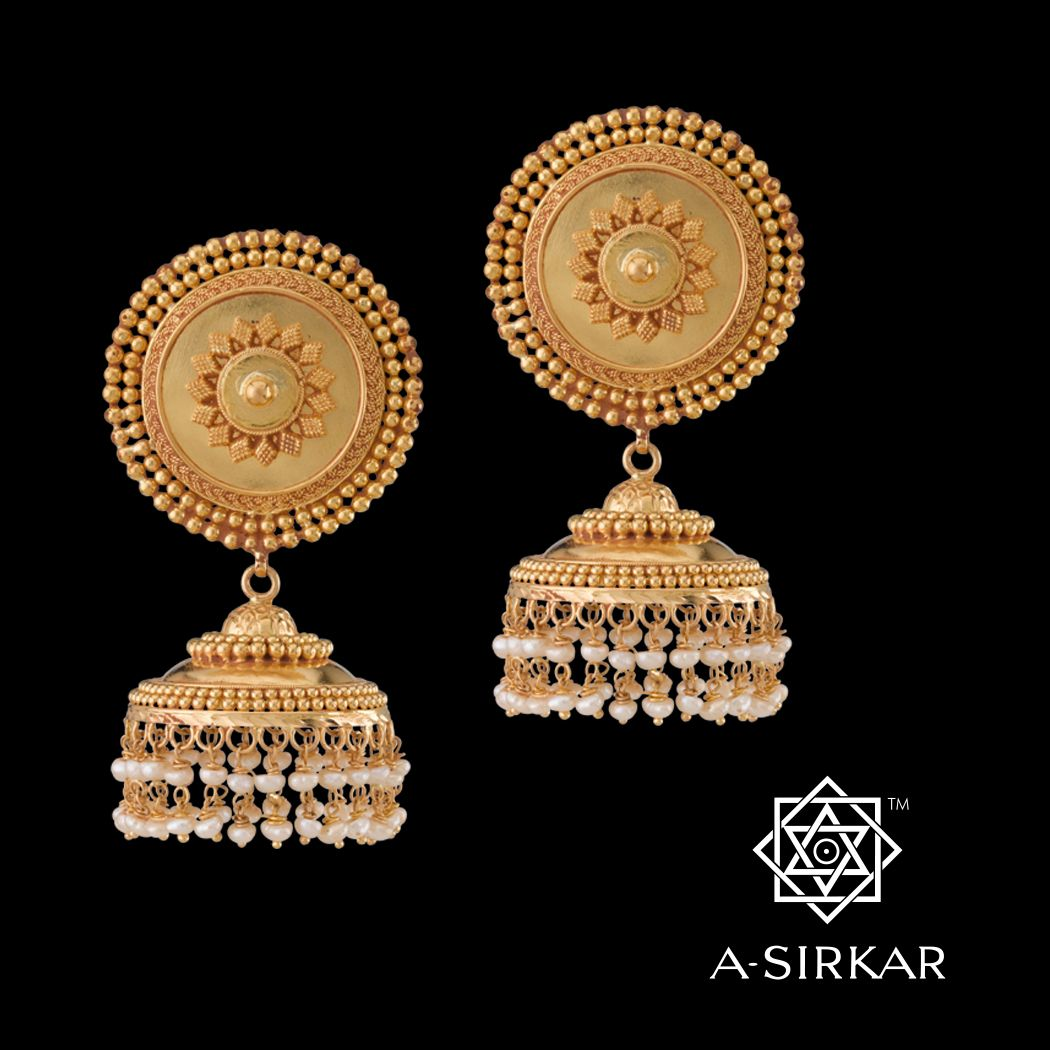 Madhusree Jhumkas And these are the matching jhumkas to the ...