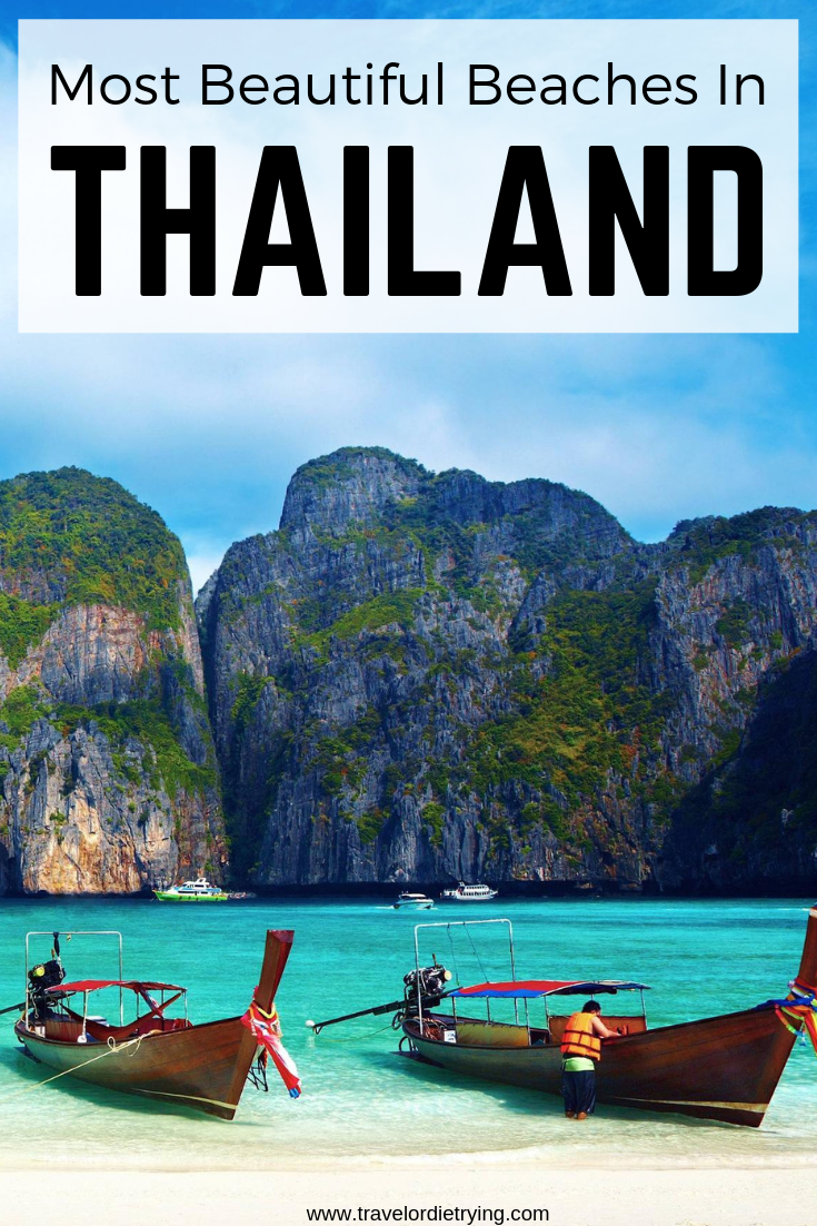 In Thailand, most of the beaches have exactly what people are looking for which is why it's a top destination for beachgoers and travellers. Given the amount of Islands, choosing which ones to visit is difficult so we've narrowed it down for you, compiling a list of the best beaches in Thailand.   #thailand #travel #thailandtravel #thailandbeach #thailandbeautifulbeaches #tropicbeaches #tropicalbeaches #thaibeaches #traveltips #travelinspiration