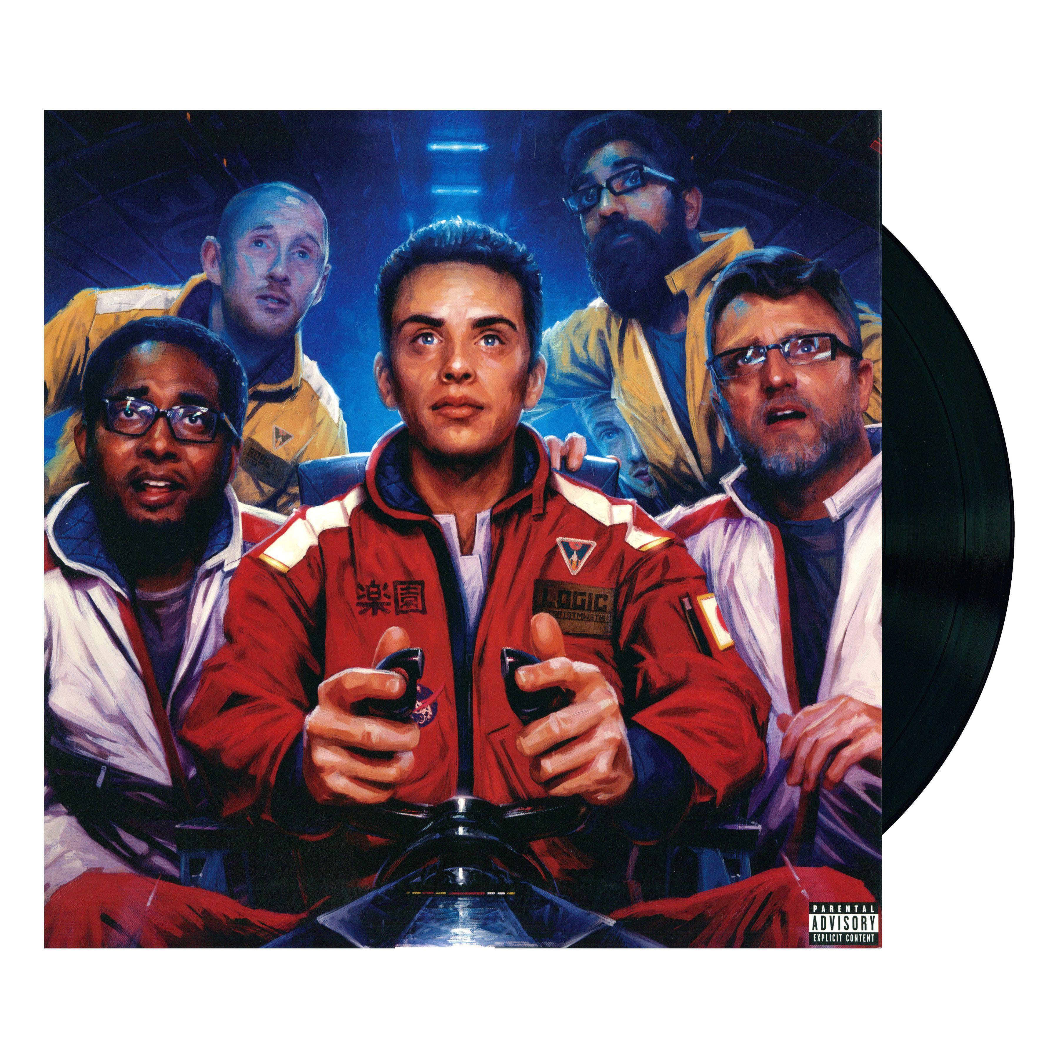 Logic INCREDIBLE TRUE STORY Vinyl Record   Christmas 2018 in