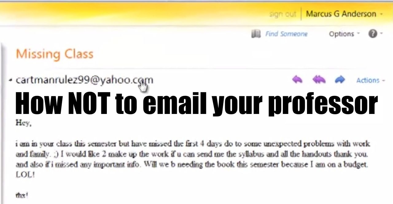 Hilariously Annoyed Professor Tears A Student S Email Apart Word By