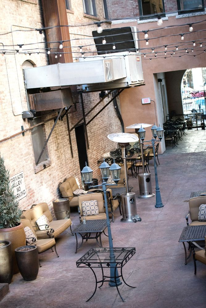 The Courtyard At Mining Exchange In Colorado Springs Would Be An Amazing Spot For A Event VenuesWedding Reception