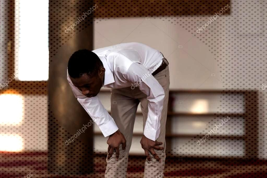 Humble Afro Muslim Prayer - Stock Photo ,You can find Afro and more on our website.Humble Afro Musl