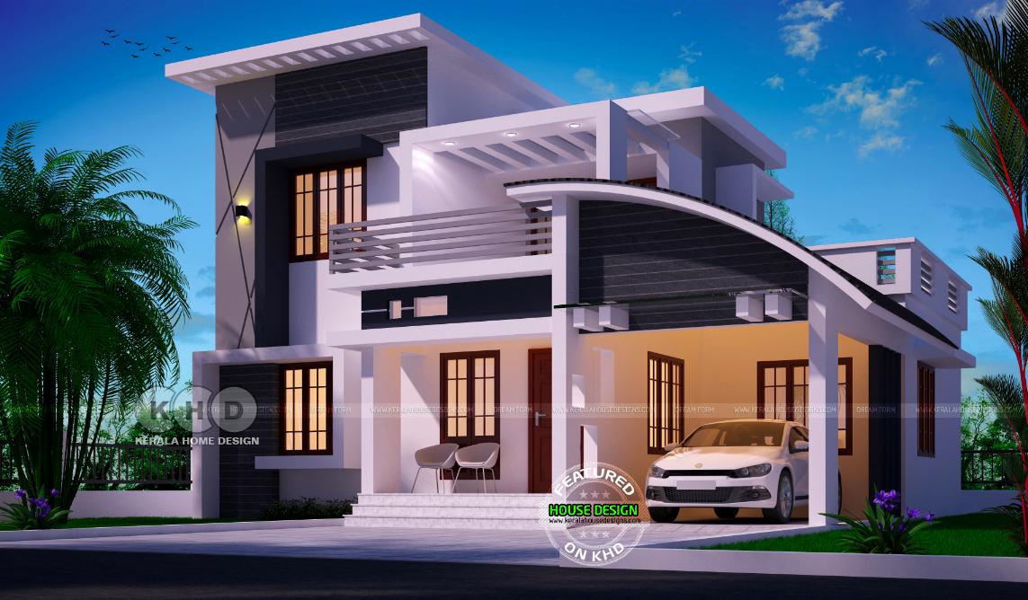 Kerala Inspired House Design En 2020 Jardines
