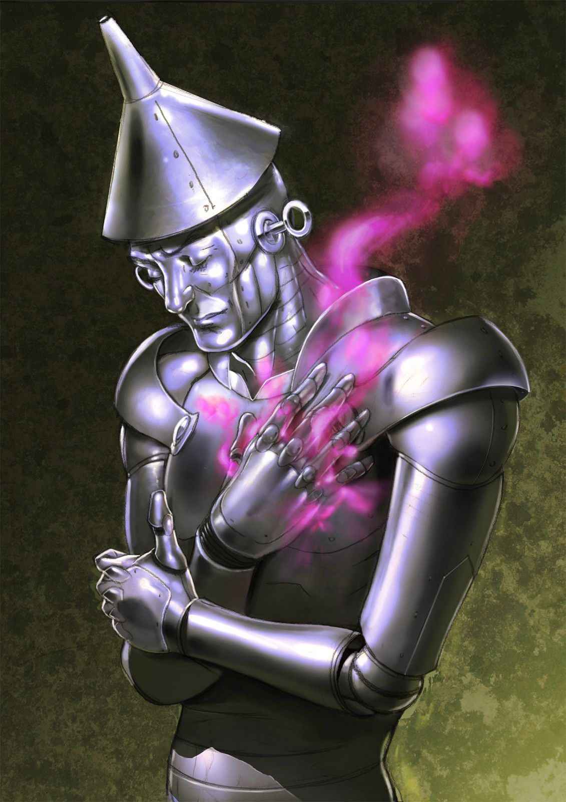 Realistic tinman. He's the poorest of them all. Not