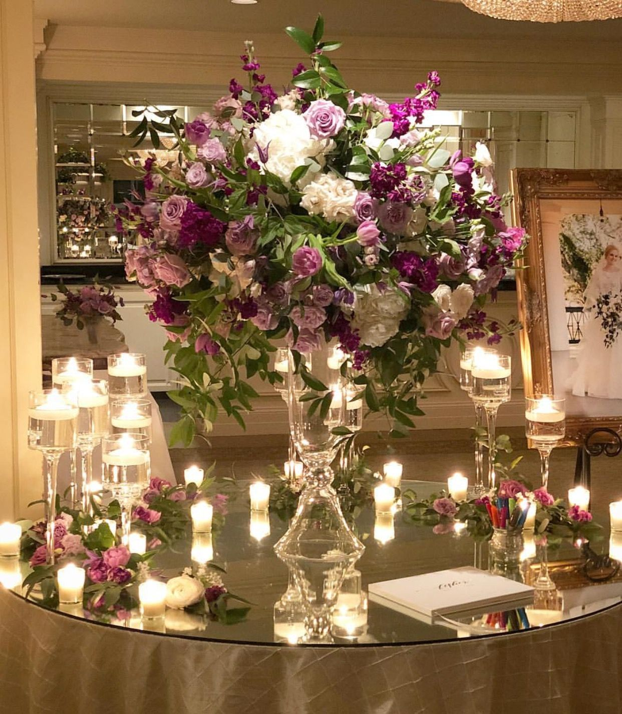 Guest book table flowers guest book table table flowers