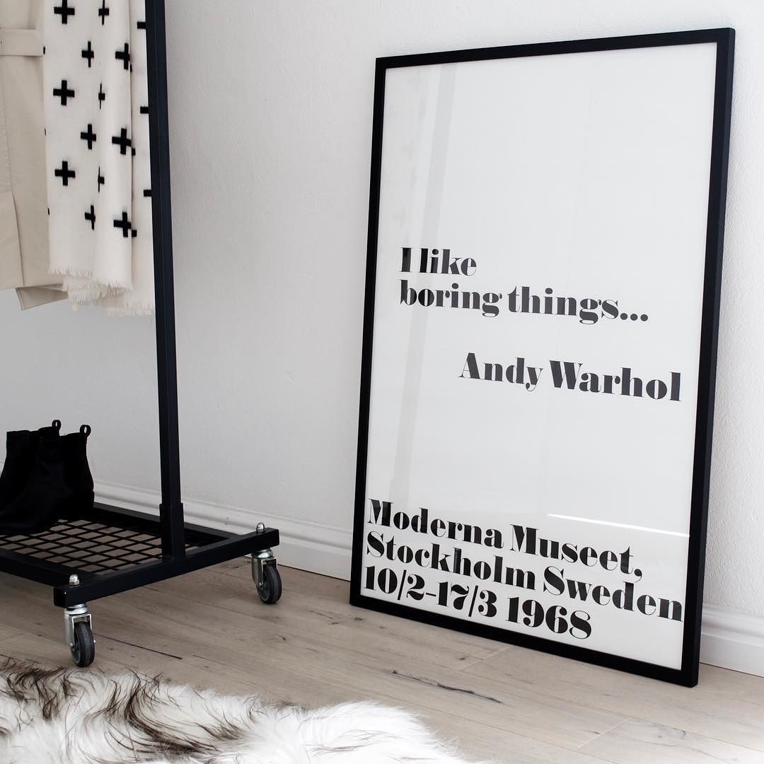 Throwback to when a framing shop messed up my Andy Warhol print and ...