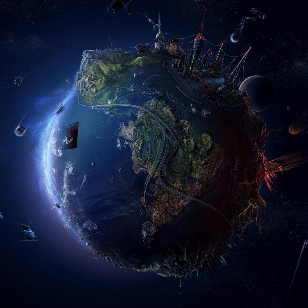 Desktop Wallpaper Earth From Space: PIN 6 #bareMinerals #READYtowin