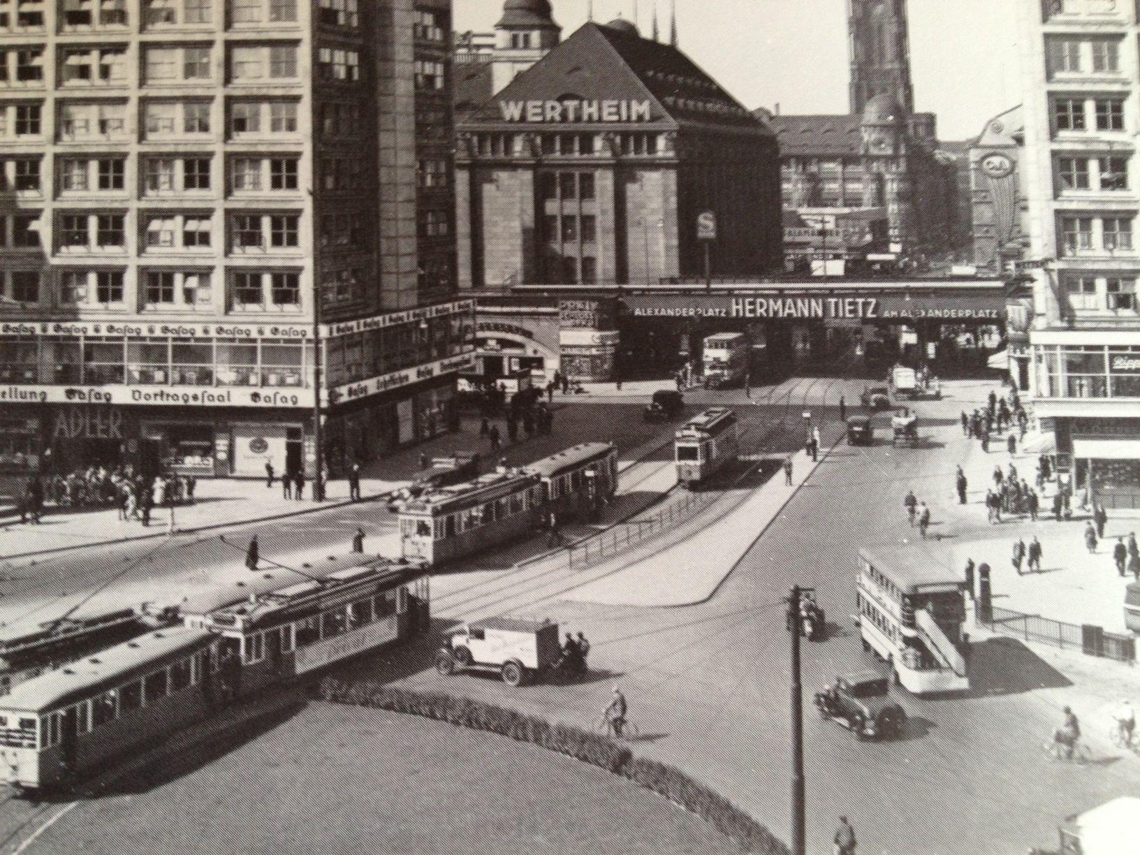 Berlin Alexanderplatz 1932 Berlin Geschichte Geschichte Deutschlands Bilder