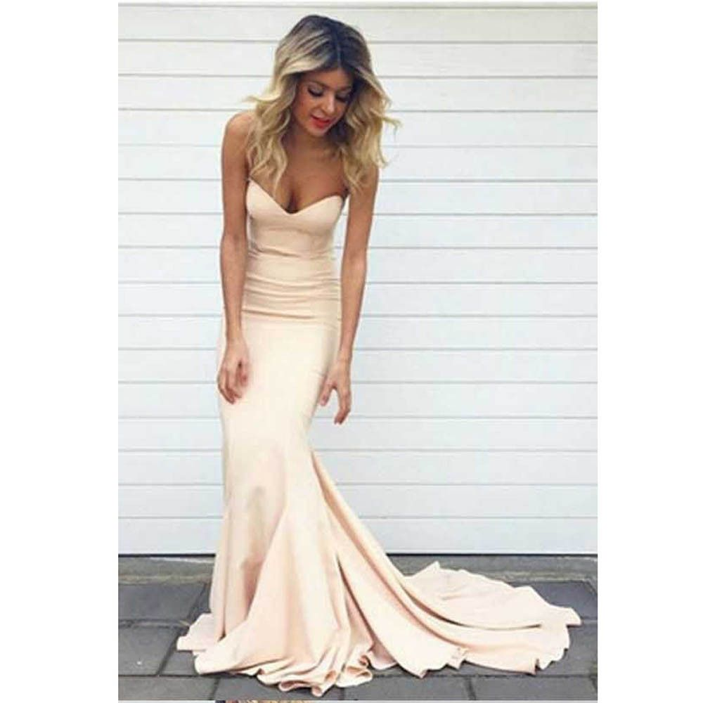 Long wedding guest dresses  Long Party Dresses   New Maid of Honer Mermaid wedding Guest