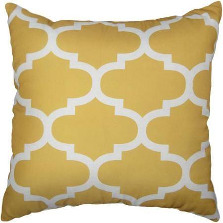 Mainstays Fretwork Decorative Pillow Walmart Com Pillows