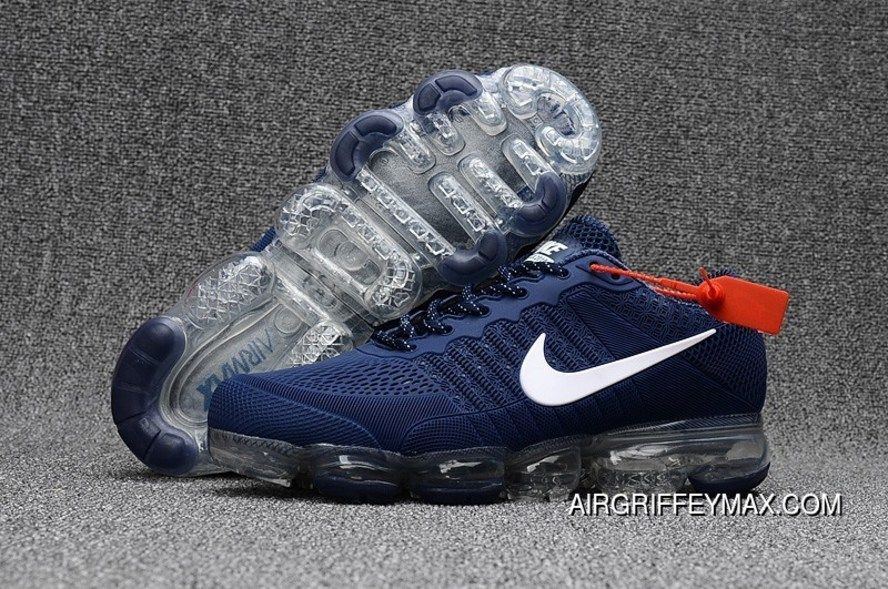 new style cc8ad 15b28 Nike Air Vapormax Flyknit 2018 Royal Blue White Top Deals, Price   94.63